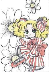 Candy Candy simple art by Keigankun