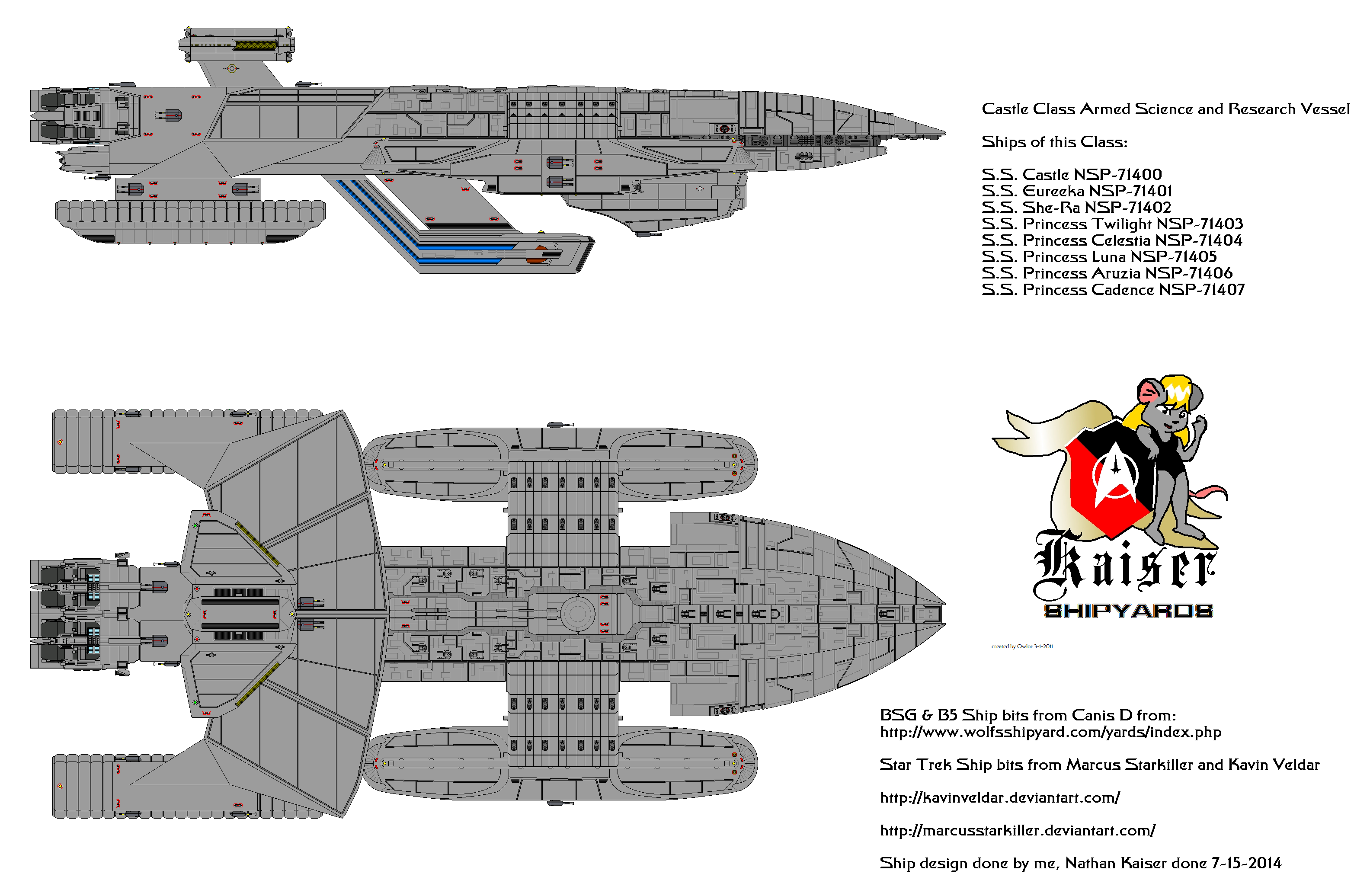 Castle Class Armed Science and Research Ship