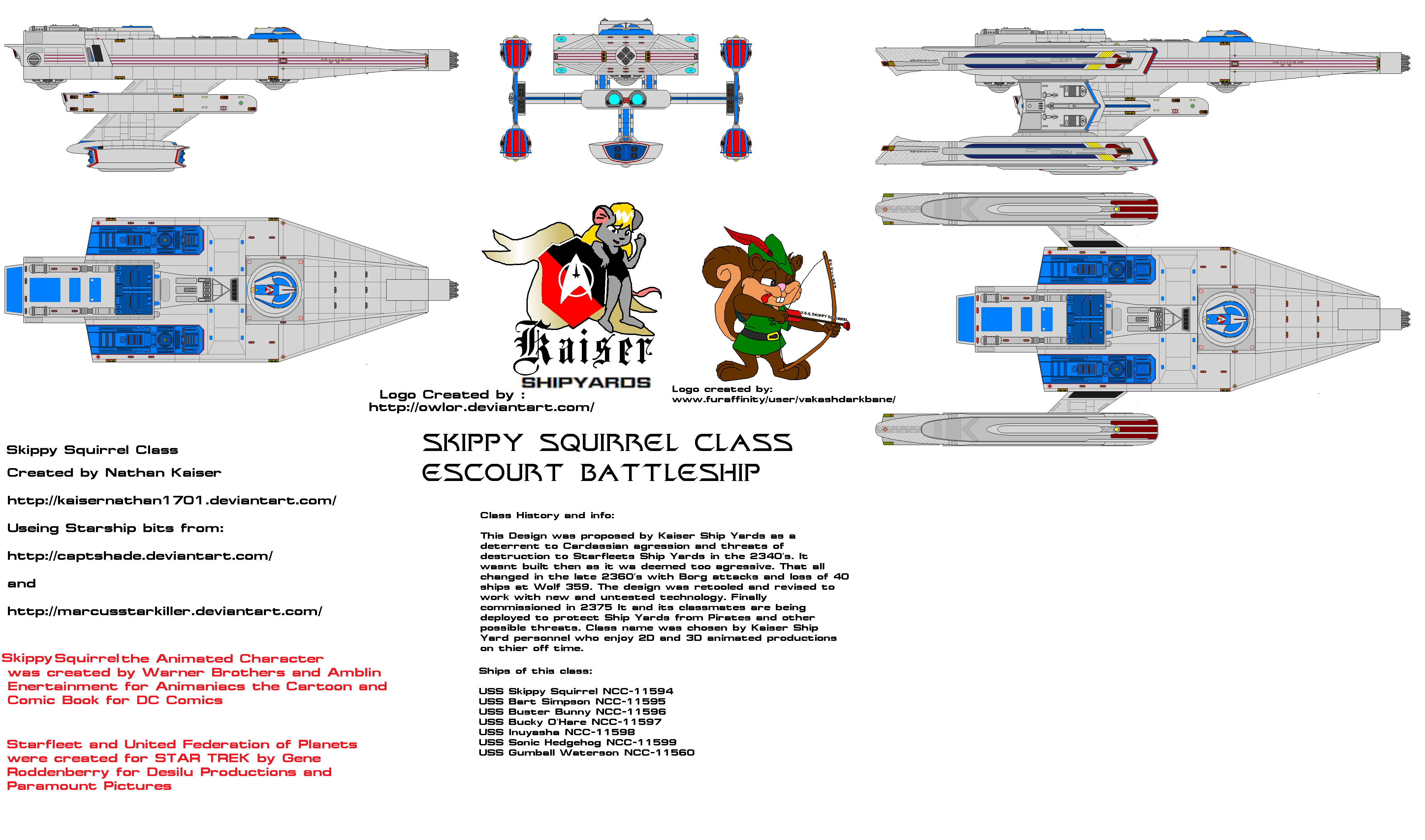 Skippy Squirrel Class (With updated Info)