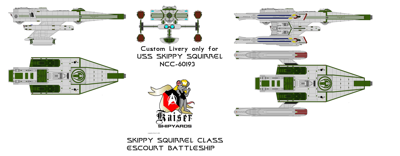 Skippy Squirrel  Class in Custom Livery