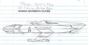 Hanna-Barbera Class Paper Drawing