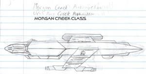 Morgan Creek Class Paper Drawing