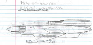 Metro-Golden-Myer Class Paper Drawing