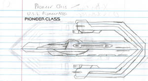 Pioneer Class Paper Drawing