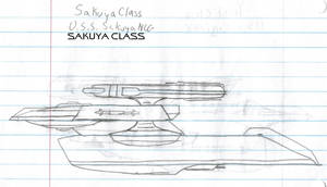 Sakuya Class Paper Drawing V1