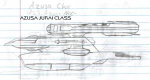 Azusa Jurai Class Paper Drawing Version V1