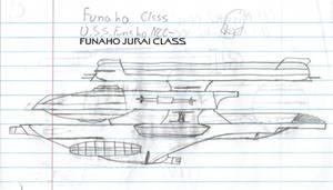 Funaho Jurai Class Paper Drawing V1