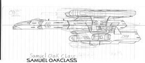Samuel Oak Class Paper Drawing