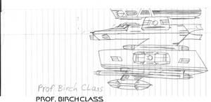 Professor Birch Class Paper Drawing