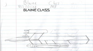 Blaine Class Paper Drawing