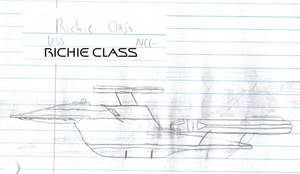 Richie Class Paper Drawing