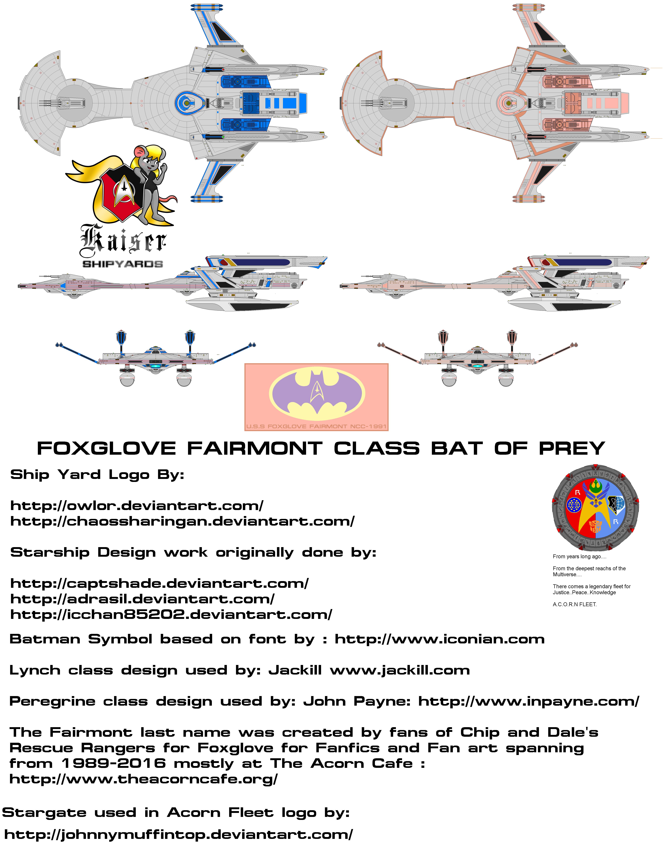 Foxglove Fairmont Class by kaisernathan1701