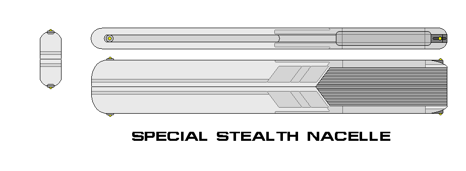 Special Stealth Nacelle by kaisernathan1701