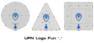 Fun with Saucers and the defunct UPN logo