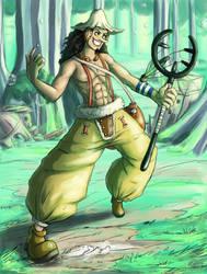Captain usopp! by Rakkigaru