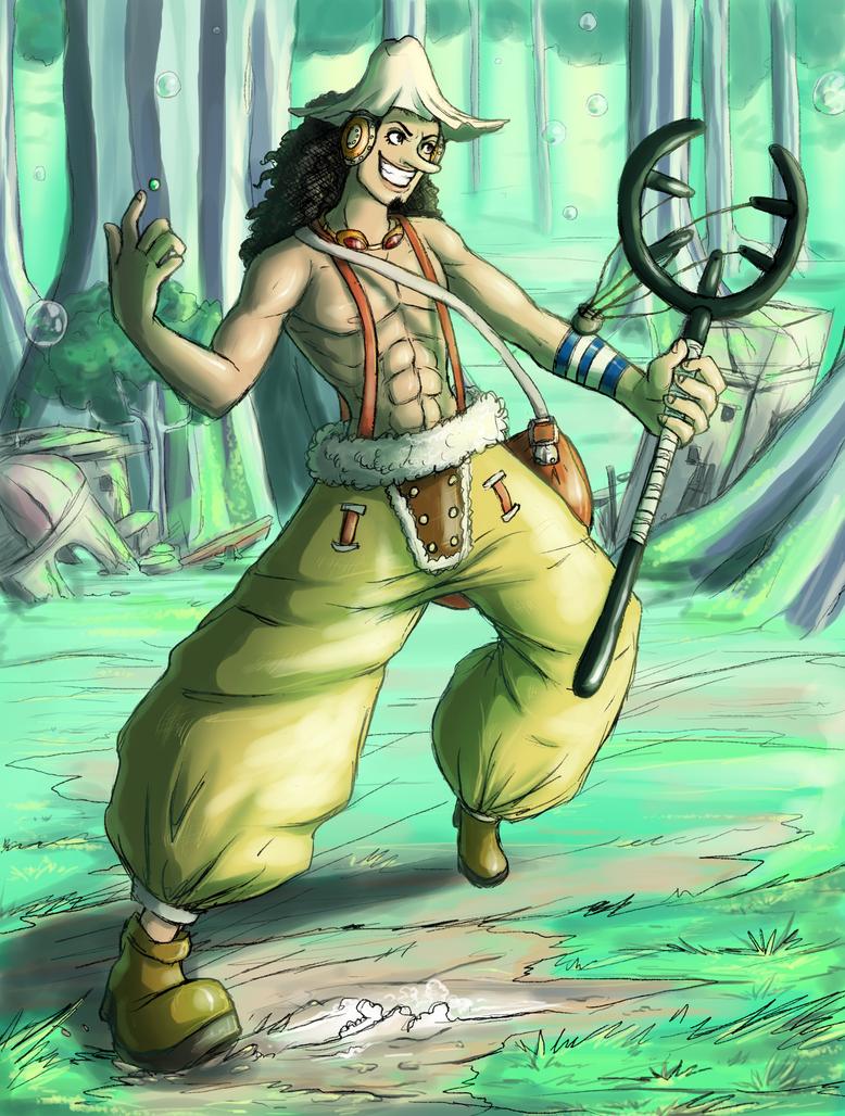 Usopp (Post Timeskip) by SkiffyKitten on DeviantArt |One Piece Usopp After 2 Years