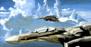 MACROSS Vf-25 FIGHTERS