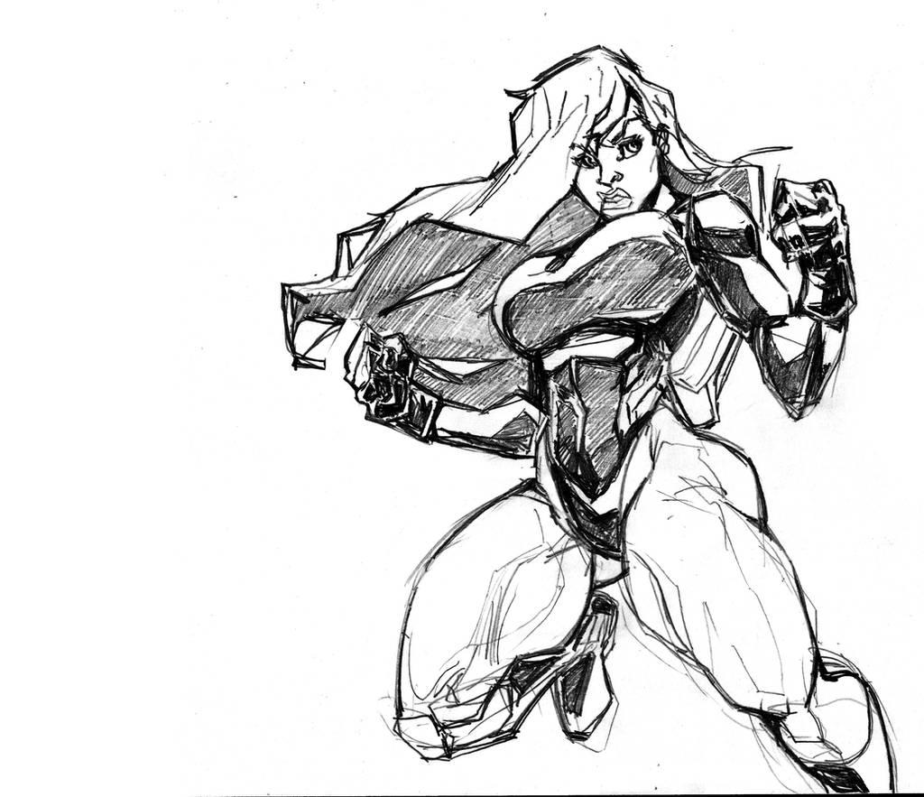 She-HULK sketch by Tristo