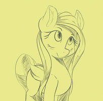 Simply Fluttershy by SourSpot