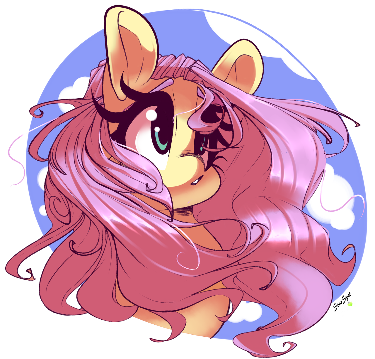 Fluttershy by SourSpot