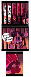 Comic-Caged by SourSpot