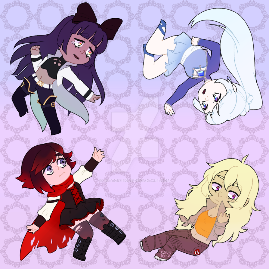 RWBY wallpaper? by button-hole ...