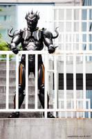 Cecil Harvey Dark Knight 02 by NealBomBad