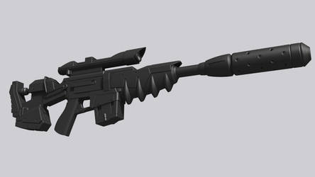 Spectre Rifle by NealBomBad