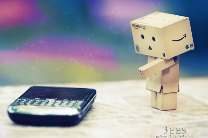 Danbo's blackberry ... by aoao2