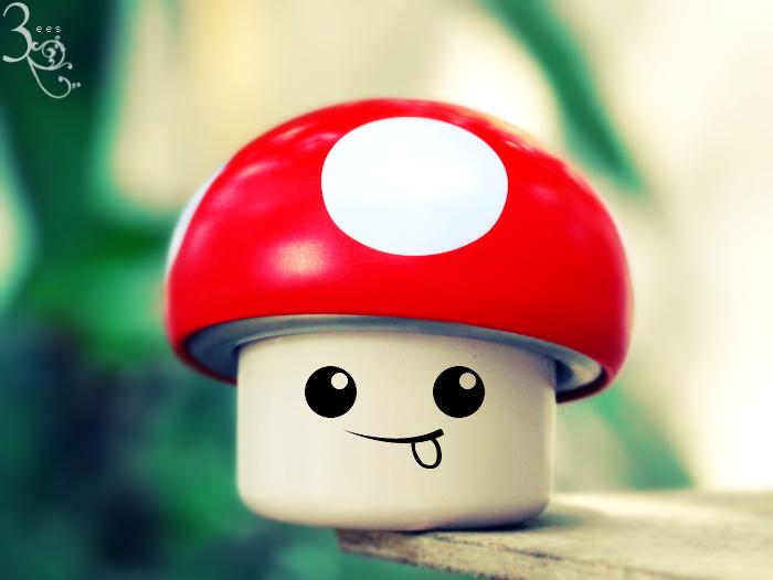 Funny mushroom ... by aoao2