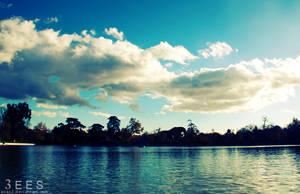 Lost in blue ... by aoao2