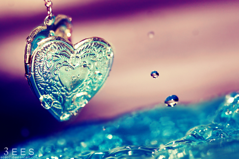 Heart splash ...