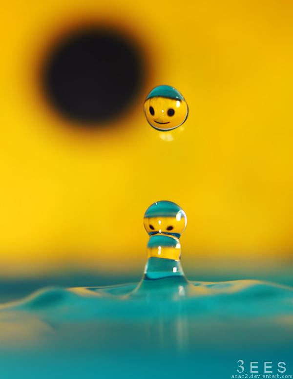 Smiley face ...