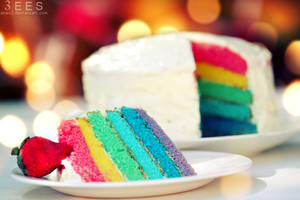Rainbow cake ... by aoao2