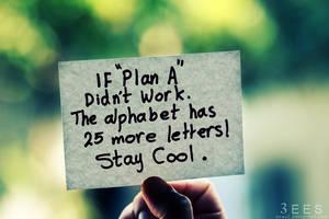 'Plan A'