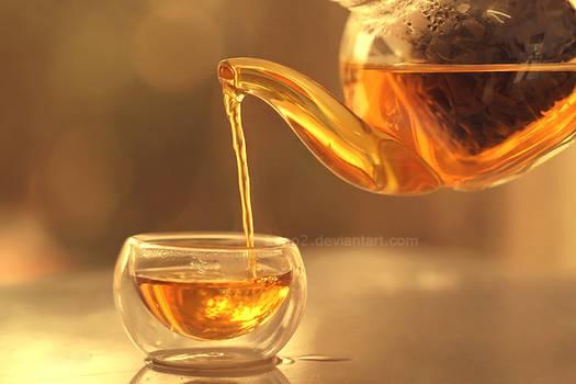 Golden liquid ...