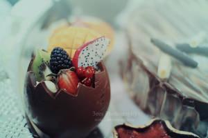 Chocolate egg by aoao2