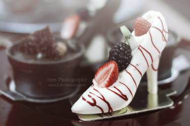 White chocolate heel by aoao2
