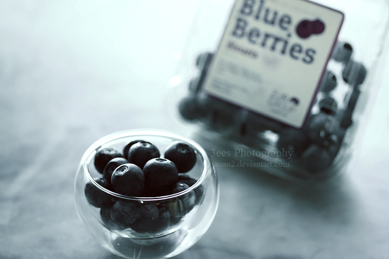 blueberries by aoao2