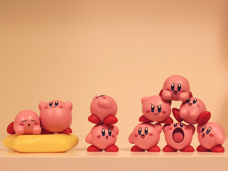 Kirby Mass Attack by aoao2