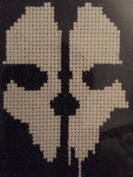 Bone-Head Cross Stitch
