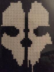 Bone-Head Cross Stitch