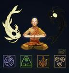 Resting element: Aang