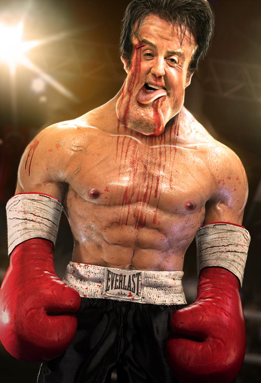 Rocky Balboa by mambak...