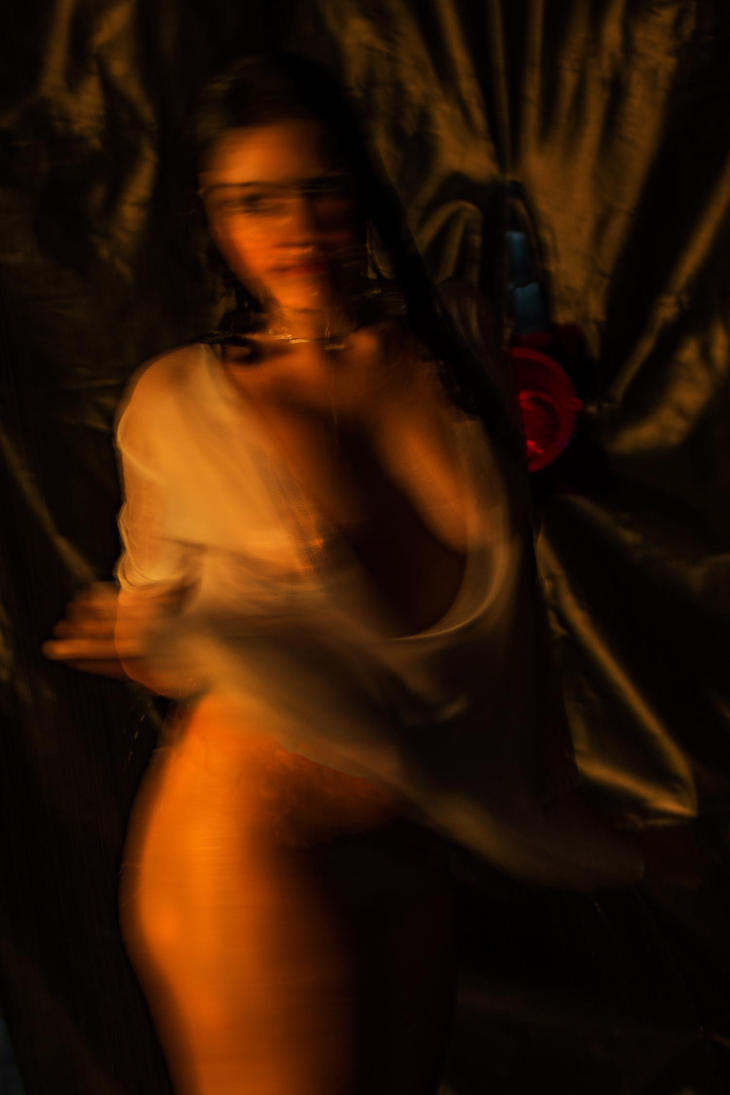 Nude In Motion by Laurence2