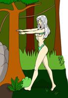 Jana of the jungle hipnotized by CarlosFco