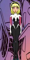 Spider Gwen hipnotized