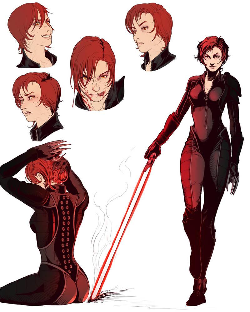 Vireth Danea: Sith Assassin.