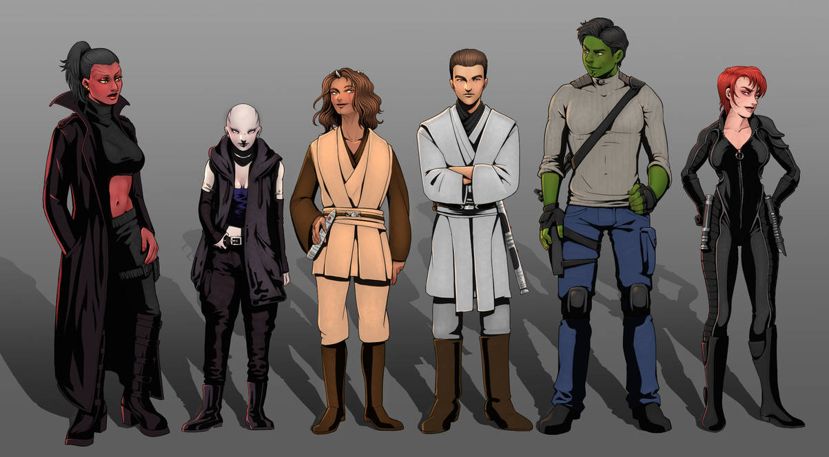 Cast of Old Republic OCs.