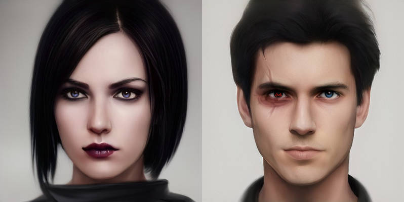 A.I. created Original Trilogy OCs.